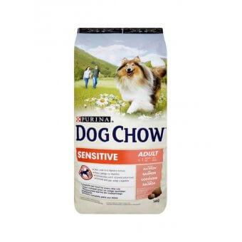 Purina Dog Chow Sensitive Łosoś 14kg