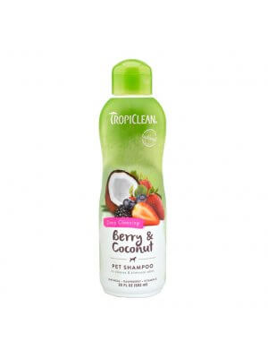 Tropiclean Szampon dla psów i kotów Berry & Coconut Pet Shampoo 355 ml