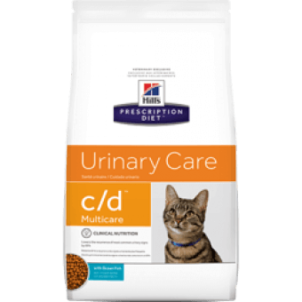 HILL'S PRESCRIPTION DIET C/D MULTICARE FELINE Z RYBĄ OCEANICZNĄ 5kg