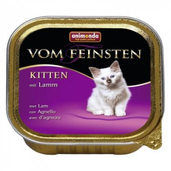 ANIMONDA VOM FEINSTEN LAMB KITTEN 100g