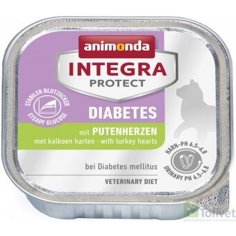 ANIMONDA INTEGRA DIABETES SERCA INDYKA 100g
