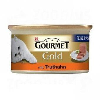 PURINA GOURMET GOLD MUS Z INDYKA 85g