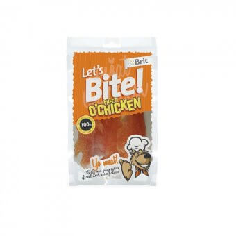 Brit Let's Bite Fillet o'Chicken 80 g