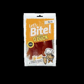 Brit Let's Bite Fillet o'Duck 80 g