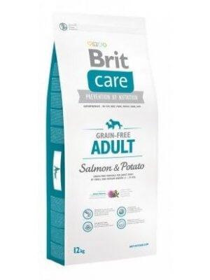 Brit Care Adult Łosoś i Ziemniaki 12 kg - Bez zbóż