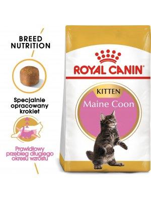 ROYAL CANIN Maine Coon Kitten 0,4kg karma sucha dla kociąt rasy maine coon