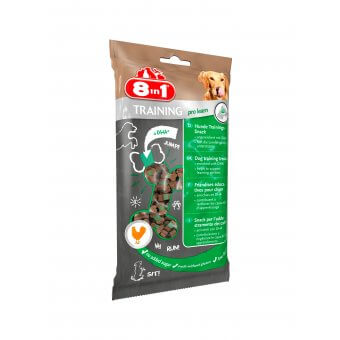 8in1 Training Treats Pro Learn 100g