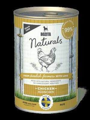 BOZITA NATURALS z kurczakiem 410g