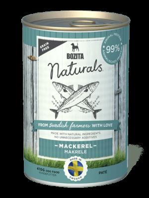 BOZITA NATURALS z makrelą 410g