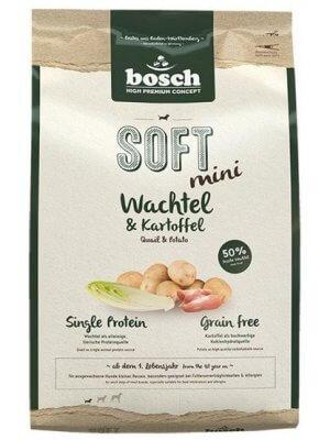 Bosch HPC+ Soft Mini Przepiórka i Ziemniak 1 kg
