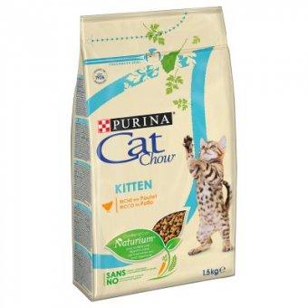 PURINA CAT CHOW KITTEN KURCZAK 0,4kg