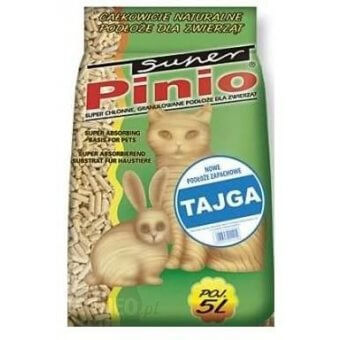 Super Benek Pinio Tajga- Żwirek Drewniany 10l
