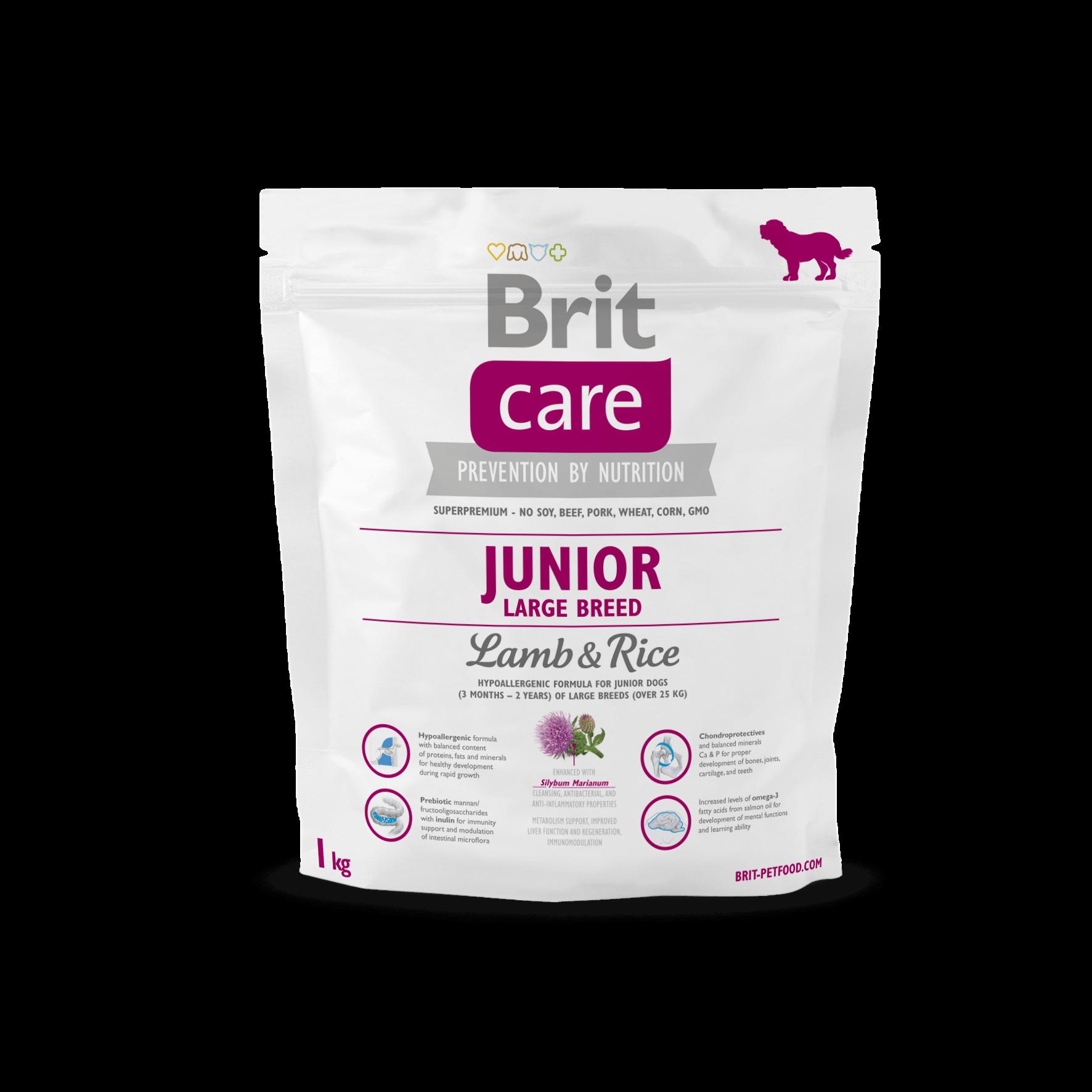 brit care junior large breed jagni cina z ry em 1 kg sklep. Black Bedroom Furniture Sets. Home Design Ideas