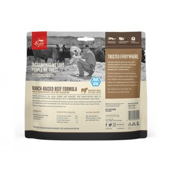 Orijen Fd Ranch-Raised Beef Dog 42,5g