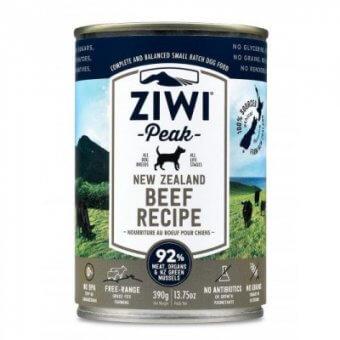 Ziwi Peak pies Beef 390g - mokra karma dla psów z wołowiną
