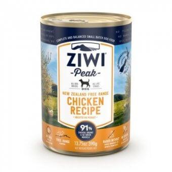 Ziwi Peak pies Kurczak 390g - mokra karma dla psów z kurczakiem