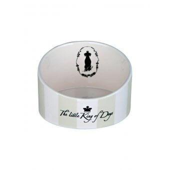 """Trixie Miska ceramiczna""""King of Dogs""""- 0.35 l/o 14 cm"""