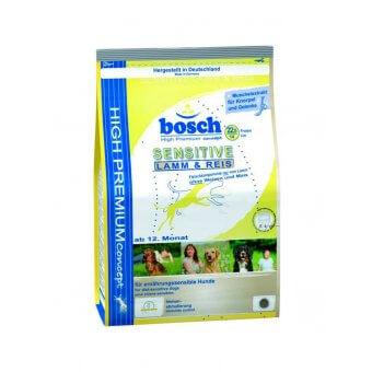 Bosch HPC Sensitive Jagnięcina z Ryżem 15 kg