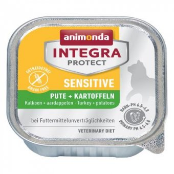 ANIMONDA INTEGRA SENSITIVE INDYK I ZIEMNIAKI 100g