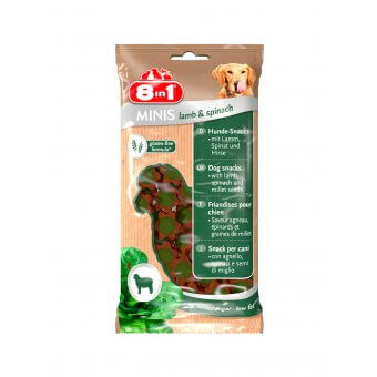 8in1 Minis lamb & spinach 100g