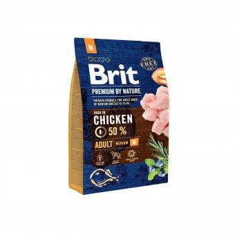 Brit Premium By Nature Adult M 3 kg