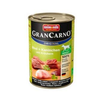 Animonda GranCarno Adult Królik w Ziołach 400 g