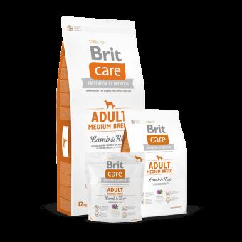 Brit Care Adult Medium Jagnięcina z Ryżem 3 kg
