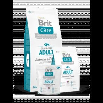 Brit Care Adult - bez zbóż - Łosoś i Ziemniaki 12 kg