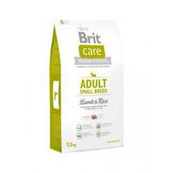 Brit Care Adult Small Jagnięcina z Ryżem 7,5 kg