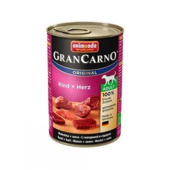 Animonda GranCarno Adult Serca i Wołowina 400 g