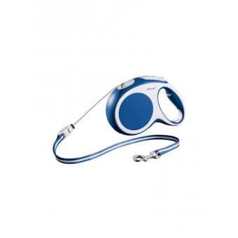 Flexi VARIO Smycz automatyczna - M linka 5 m Niebieska