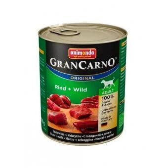 Animonda GranCarno Adult Dziczyzna i Wołowina 800 g