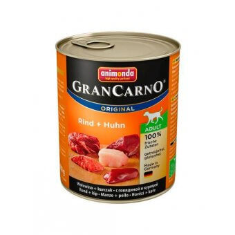 Animonda GranCarno Adult Wołowina i Kurczak 800 g