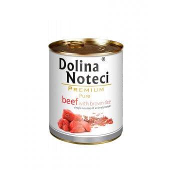 Dolina Noteci Premium Pure Wołowina z Ryżem 800g