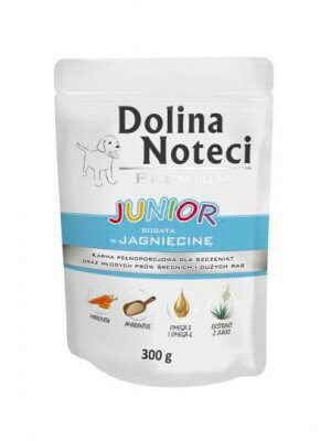Dolina Noteci Premium Junior Jagnięcina 300g