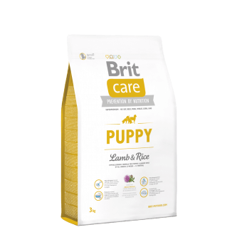 Brit Care Puppy All Breed Jagnięcina z Ryżem 3 kg