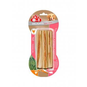 8in1 Pork Delights Bone Sticks 3szt