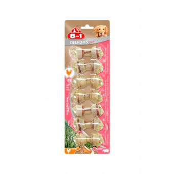 8in1 Pork Delights Bones XS 7szt