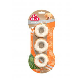 8in1 Delights Rings 3szt.