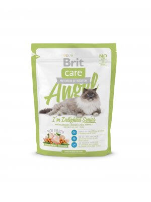 Brit Care Cat Angel I'm Delight Senior 0,4kg