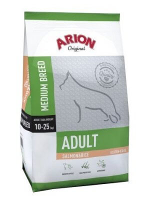 Arion Original Adult Medium Łosoś z Ryżem 3 kg