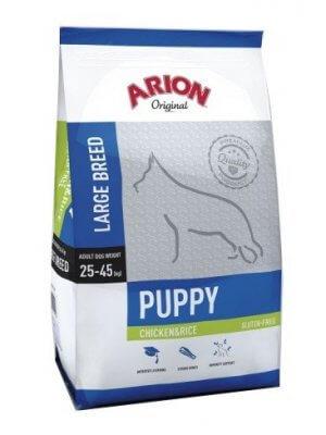 Arion Original Puppy Large Kurczak z Ryżem 12 kg