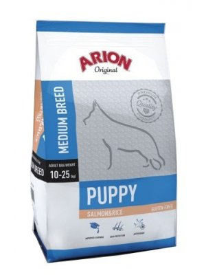 Arion Original Puppy Medium Łosoś z Ryżem 3 kg