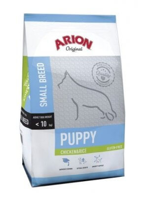 Arion Original Puppy Small Kurczak z Ryżem 7,5 kg
