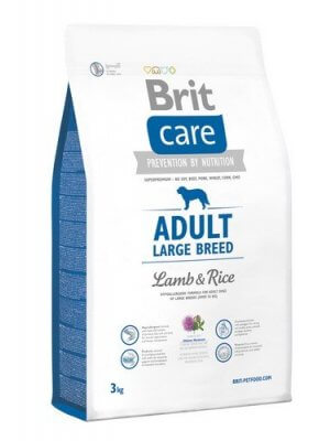 Brit Care Adult Large Breed Jagnięcina z Ryżem 3 kg