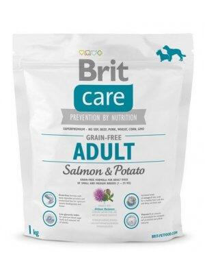 Brit Care Adult Łosoś i Ziemniaki 1 kg - Bez zbóż