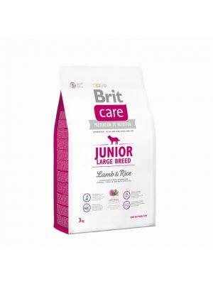Brit Care Junior Large Breed Jagnięcina z Ryżem 3 kg