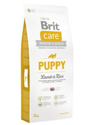 Brit Care Puppy All Breed Jagnięcina z Ryżem 12 kg