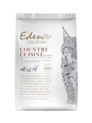 EDEN COUNTRY CUISINE – Karma dla Kotów Kaczka, Jagnięcina, Królik, Dziczyzna 400g