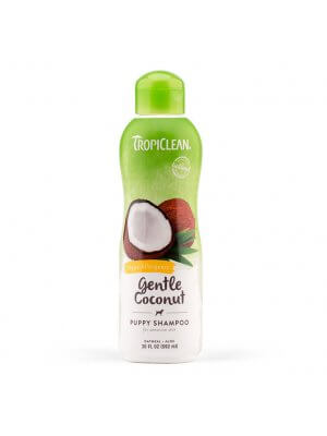Tropiclean Łagodny szampon dla szczeniąt i kociąt Gentle Coconut Pet Shampoo 355 ml